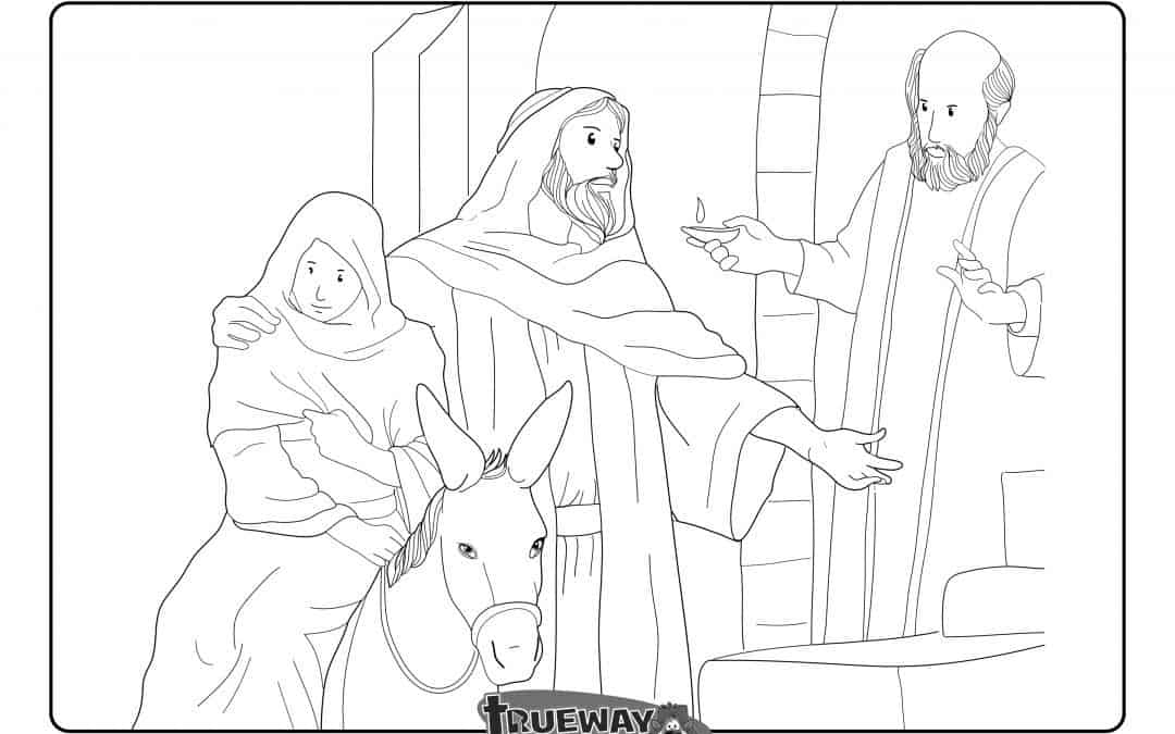 Mary And Joseph Coloring Pages - GetColoringPages.com | 675x1080