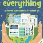 Bible creation lesson graphics