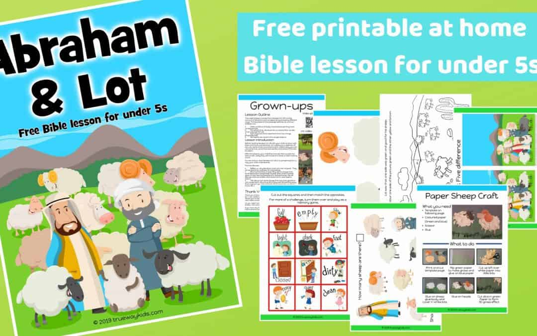Abraham - Bible Coloring Pages | What's in the Bible? | 675x1080