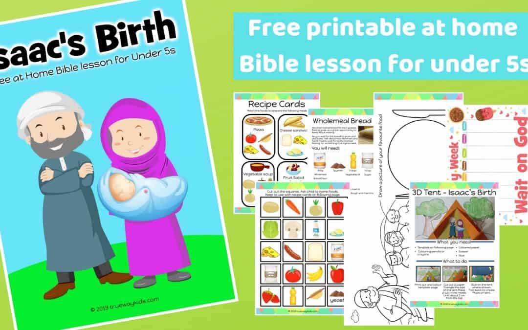 Isaac is born – Free Bible lesson for under 5s