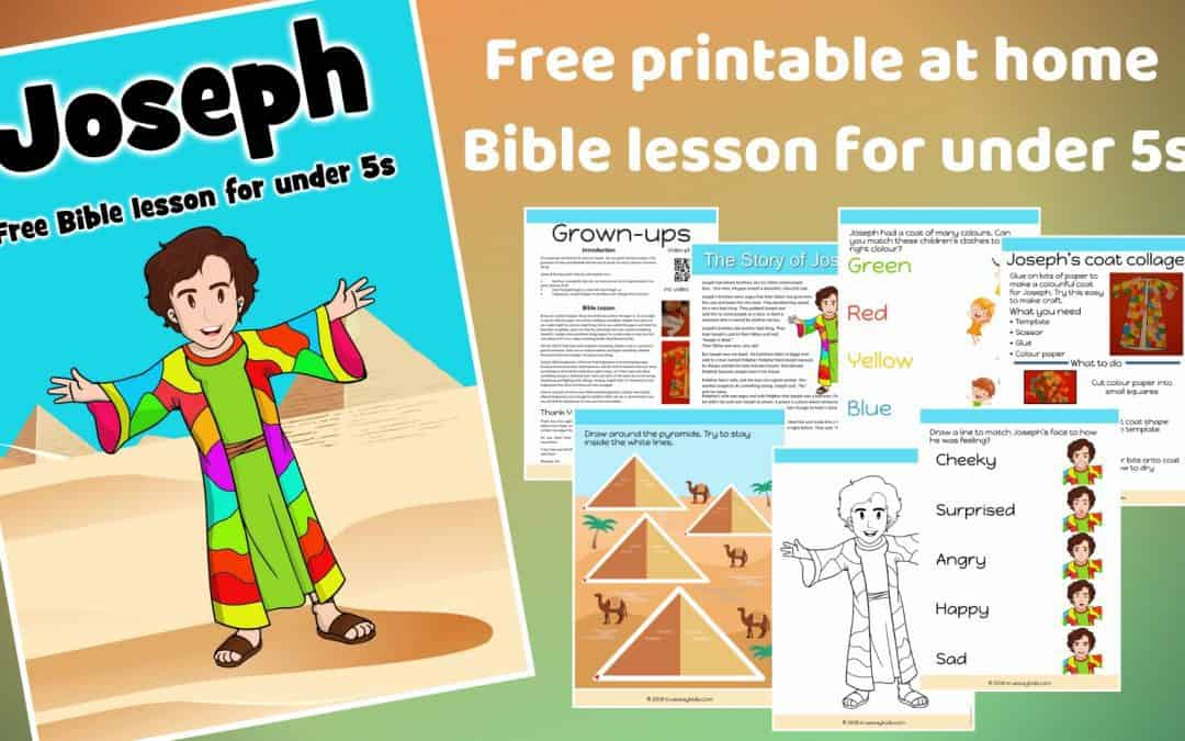Joseph – Free Bible lesson for under 5s