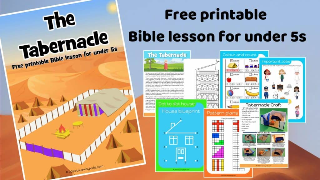 The Tabernacle preschool Bible lesson. Learn about God God's desire to meet with us.Games, Crafts, Activities, songs, lesson, worksheets and more.