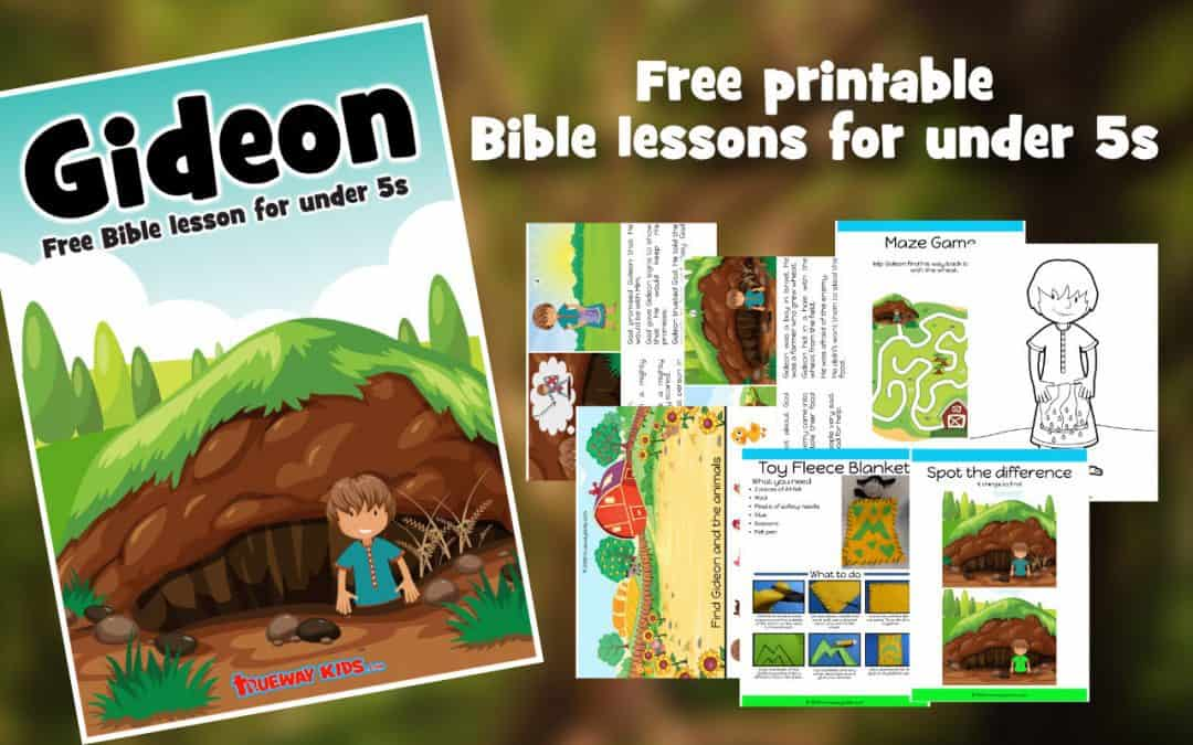Gideon's calling – Free Bible lesson for under 5s