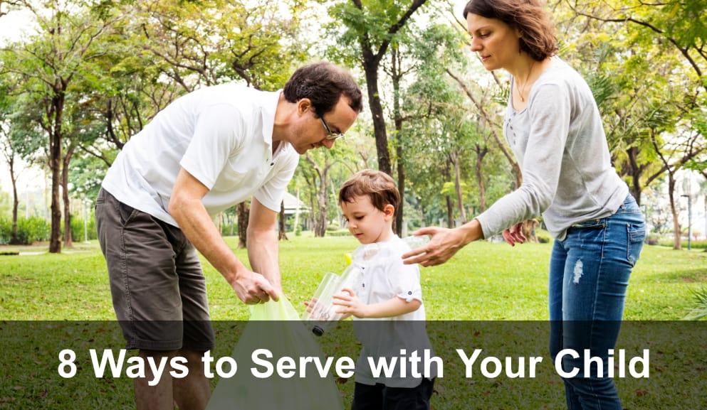 8 Ways to Serve with Your Preschooler