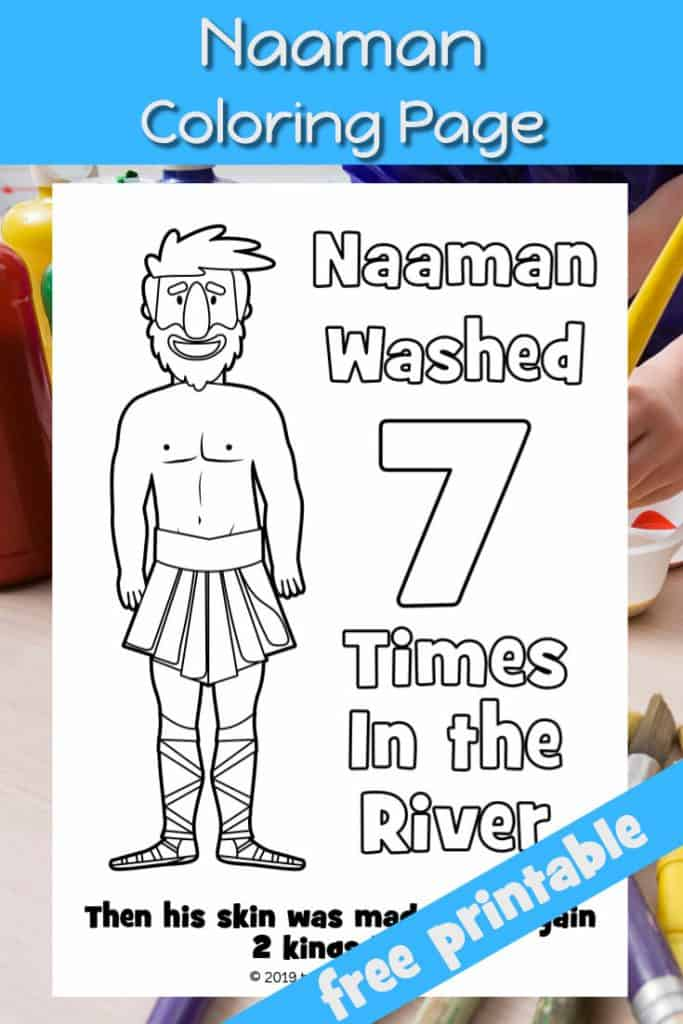 Naaman - Preschool Bible lesson - Trueway Kids