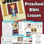 Free printable Josiah Bible lesson for kids. Help your child explore 2 kings 22 with Bible games and activities. King Josiah coloring pages, Sunday School crafts, song ideas and more.