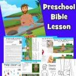 Help your child explore the story of Naaman from 2 Kings 5 with this free printable Bible lesson including crafts, games, worksheets, coloring pages and more.