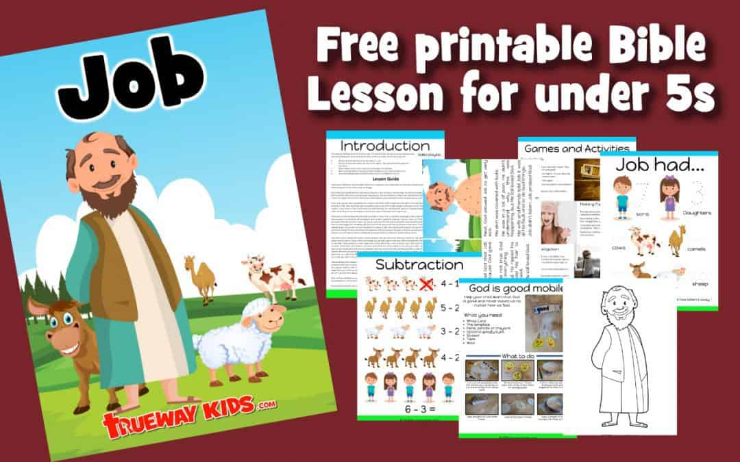 Help you child explore the book of Job through free printable lesson, worksheets, coloring pages, crafts and more. Learn the importance of loving God first.