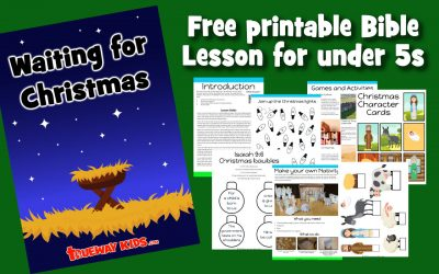 Waiting For Christmas – Preschool Bible lesson for advent.