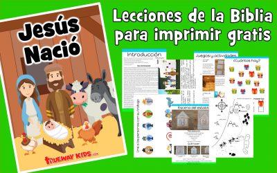 Jesús nació – lección de la biblia para niños
