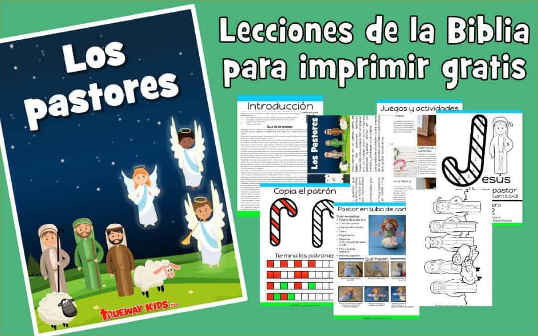 Los pastores - lección de biblia de adviento para niños