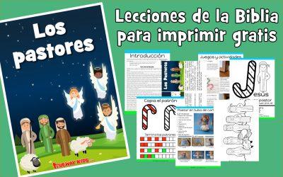 Los pastores – lección de la biblia para niños