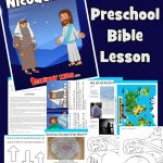 Jesus and Nicodemus Bible lessons for kids