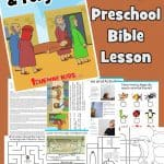 Jesus heals and forgives Bible lesson for preschoolers