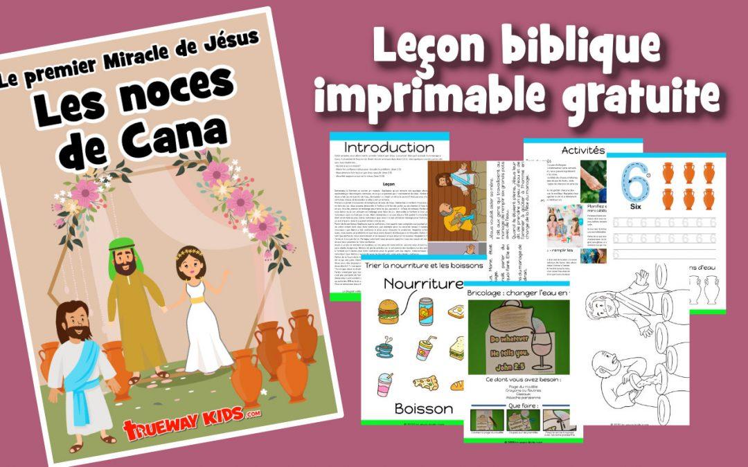 Les noces de Cana – Le premier Miracle de Jésus