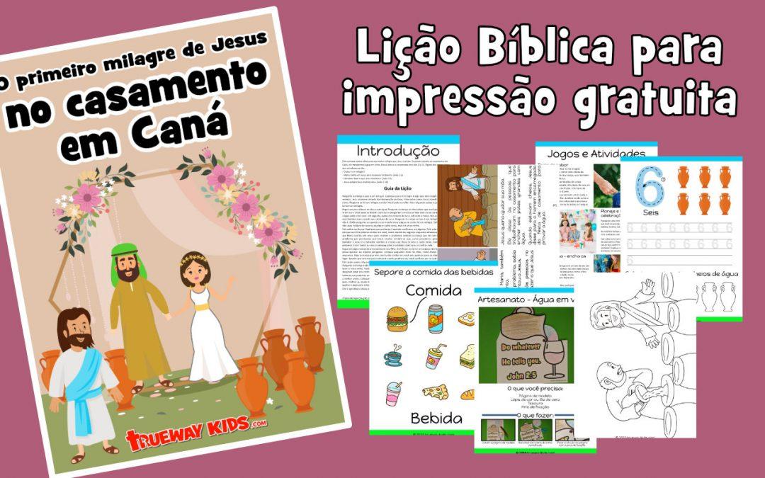 O primeiro milagre de Jesus