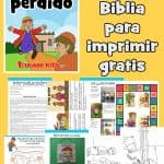 Lección de la Biblia para imprimir gratis sobre el hijo perdido o pródigo en Lucas 15: 11-32. Ideal para niños en edad preescolar. historia, hojas de trabajo, páginas para colorear, manualidades y más