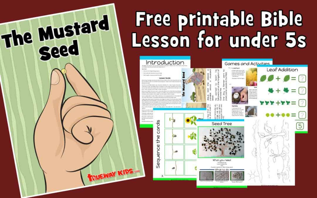 The Parable of thThe Parable of the Mustard Seed. Free printable preschool Bible lesson. Includes games, activities, coloring pages, Bible crafts and more. e Mustard Seed. Free printable preschool Bible lesson