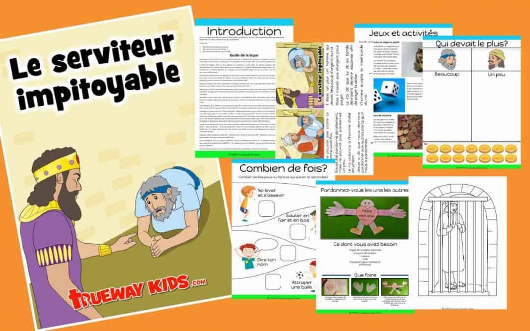 La Parabole du serviteur impitoyable - Leçon biblique gratuite pour les enfants