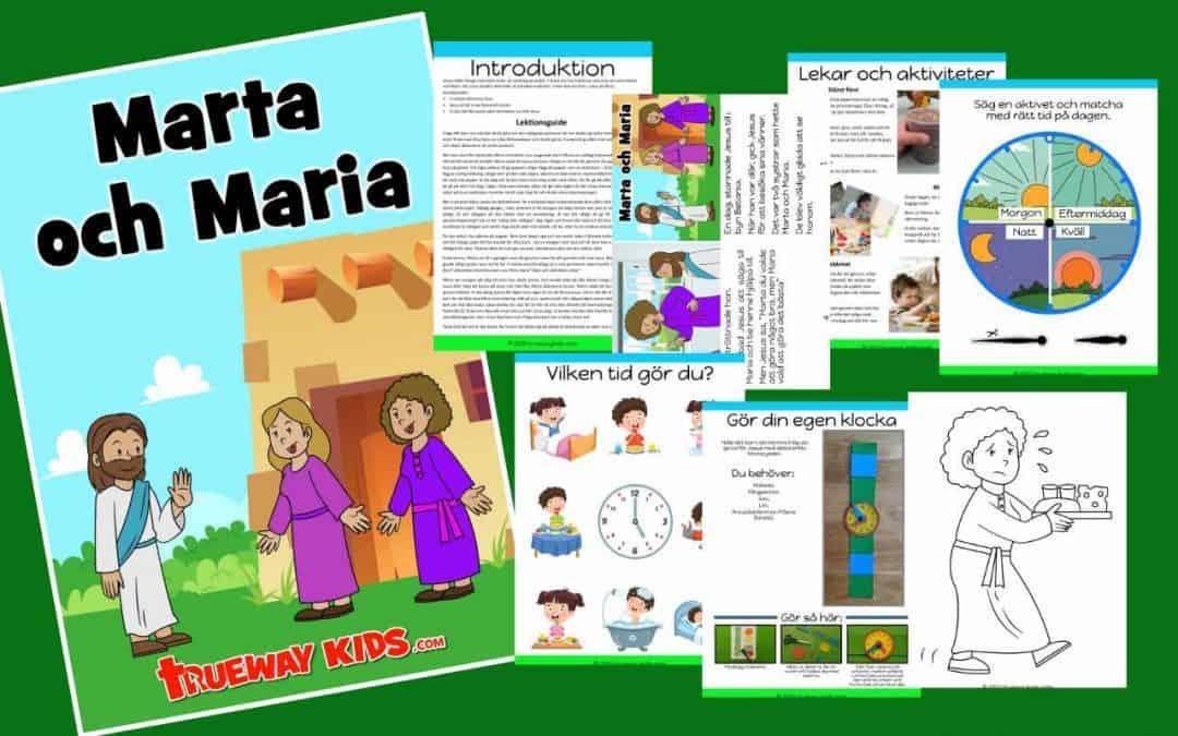 Marta och Maria