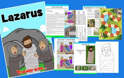 Lazarus – kinderen Bijbelles